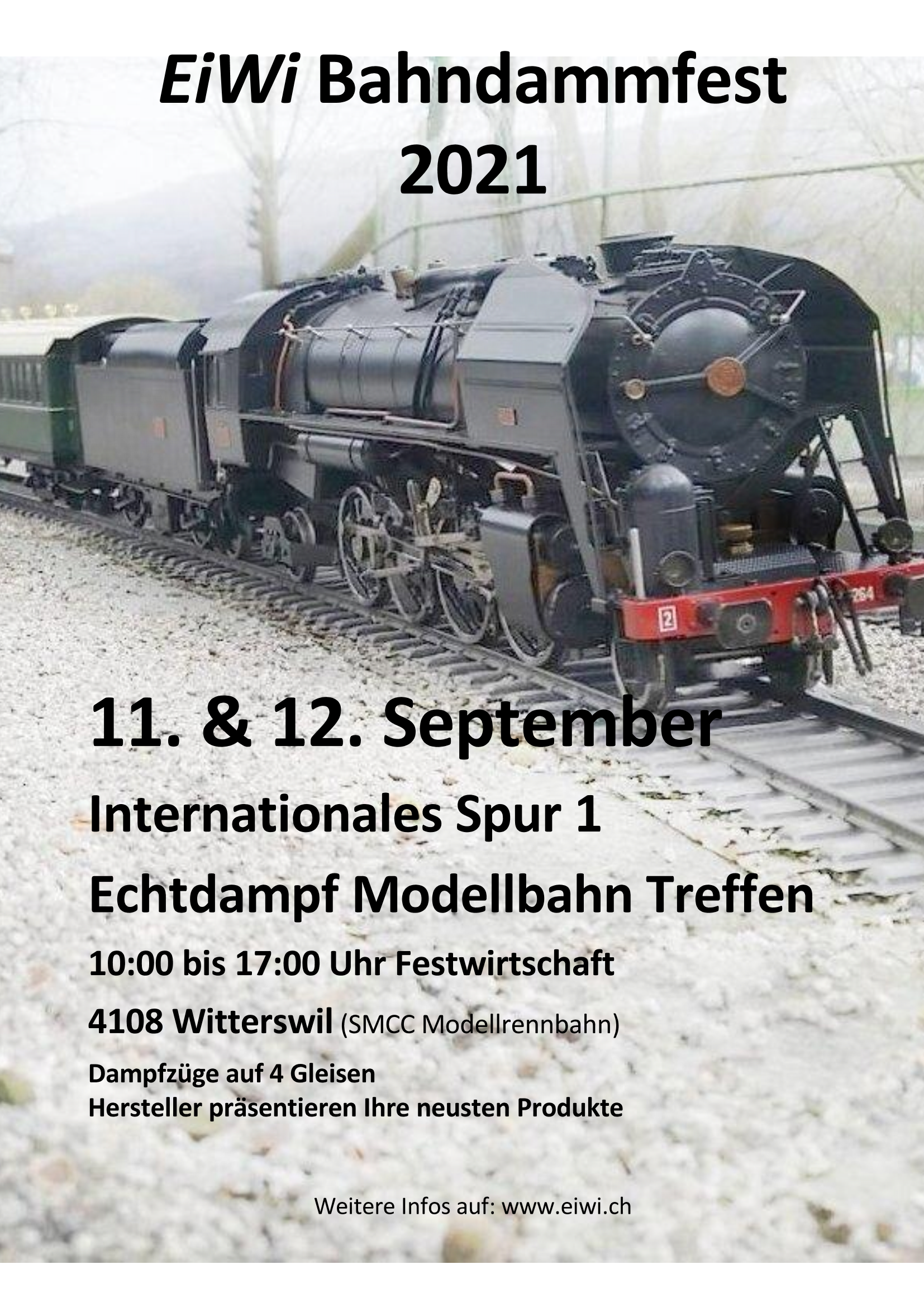 2021 EiWi jubiläums Bahndammfest
