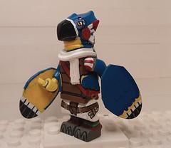 Custom Lego Legend of Zelda: Kass (Left Side)