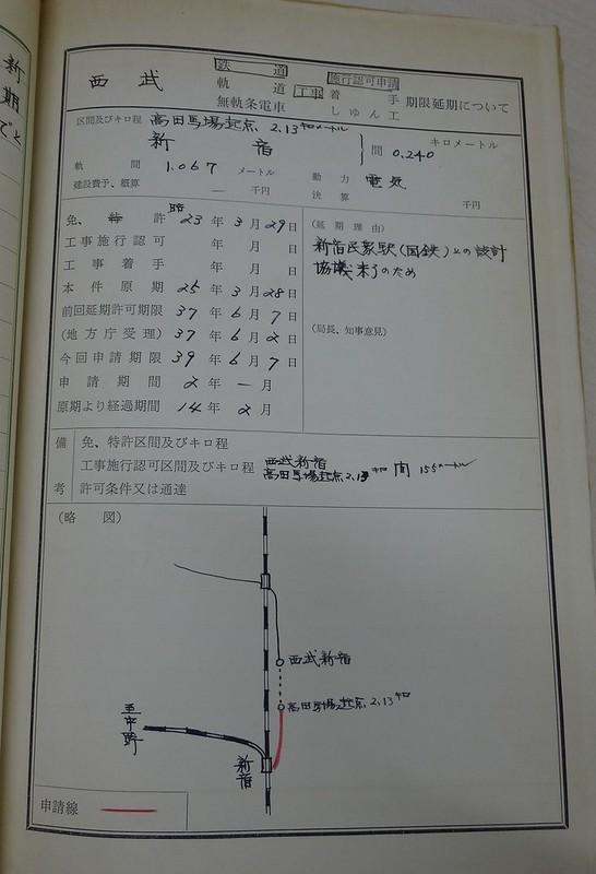西武新宿線国鉄新宿駅(マイシティ・ルミネスト)延伸撤退公文書 (11)