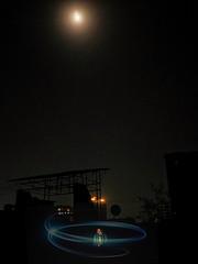Moonlit light