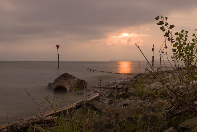 Sonnenaufgang  (Horn Hafen West)