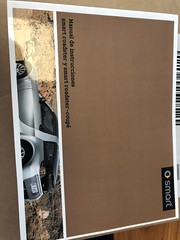 new Smart Roadster Operations Manual Operating Instructions in Italian