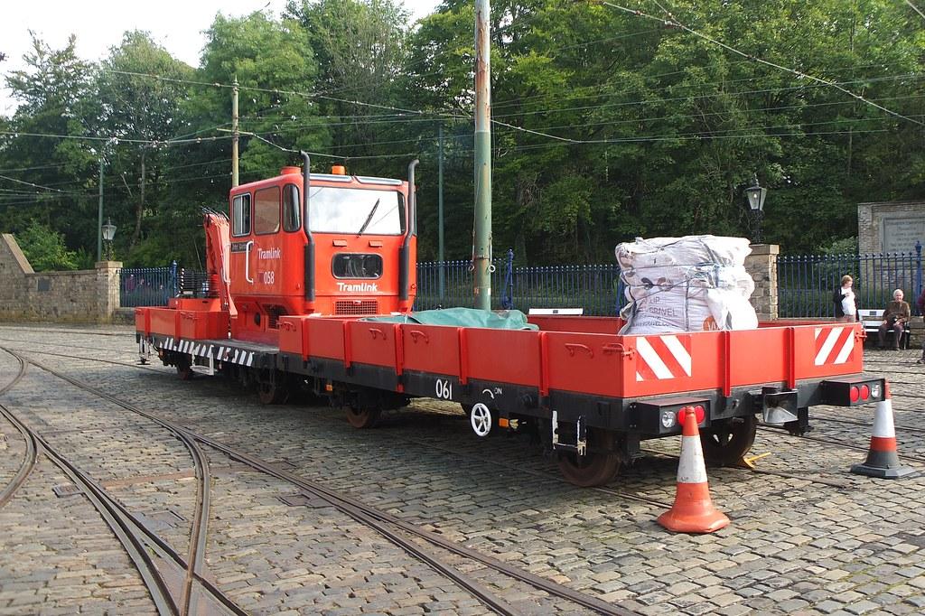 Tramlink Works Vehicle 058 - Crich Tramway Village