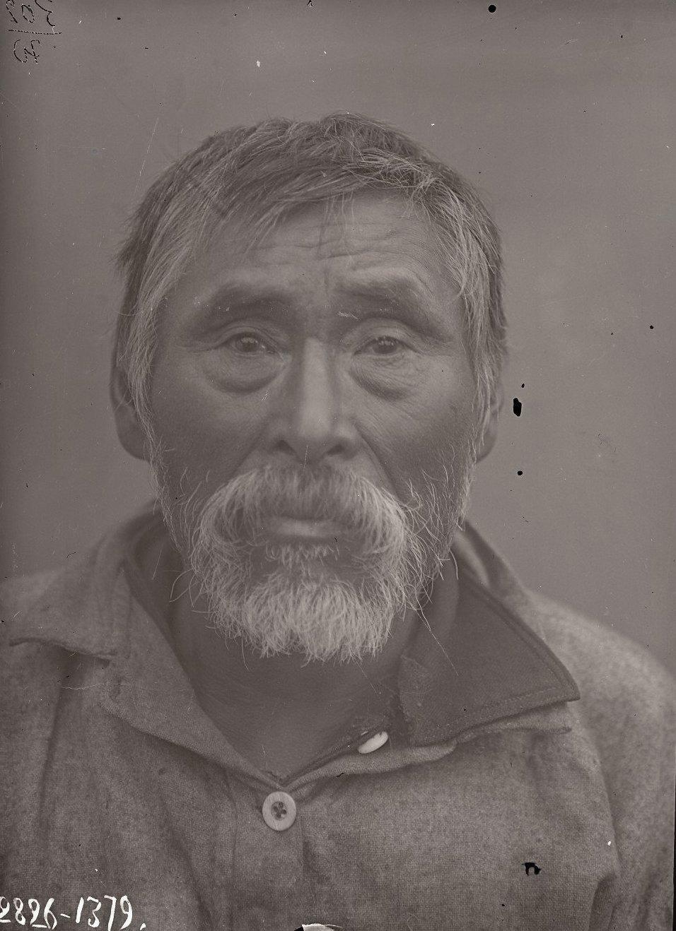 1909. Июнь - июль. Дионисий Худяков (фас). Атту остров