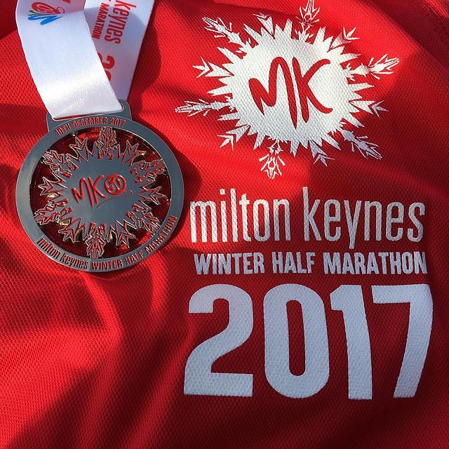 Finishers medal and technical tee