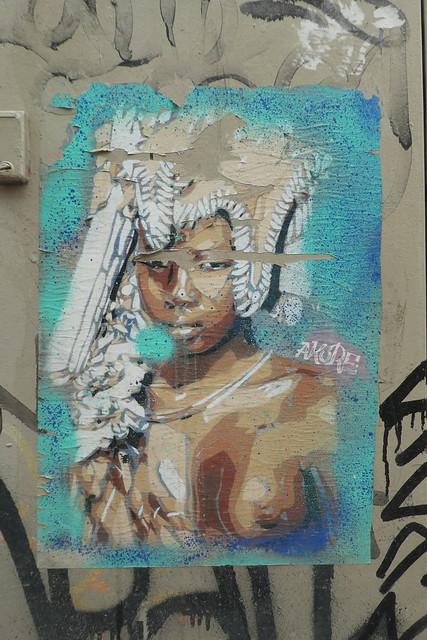 Akore stencil, Barcelona