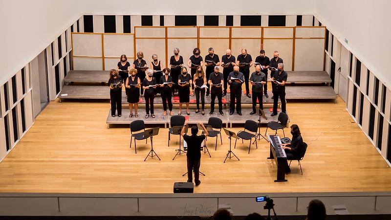 Concert del Cor Madrigal a Castelló - setembre 2021