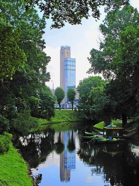clock tower, Riga