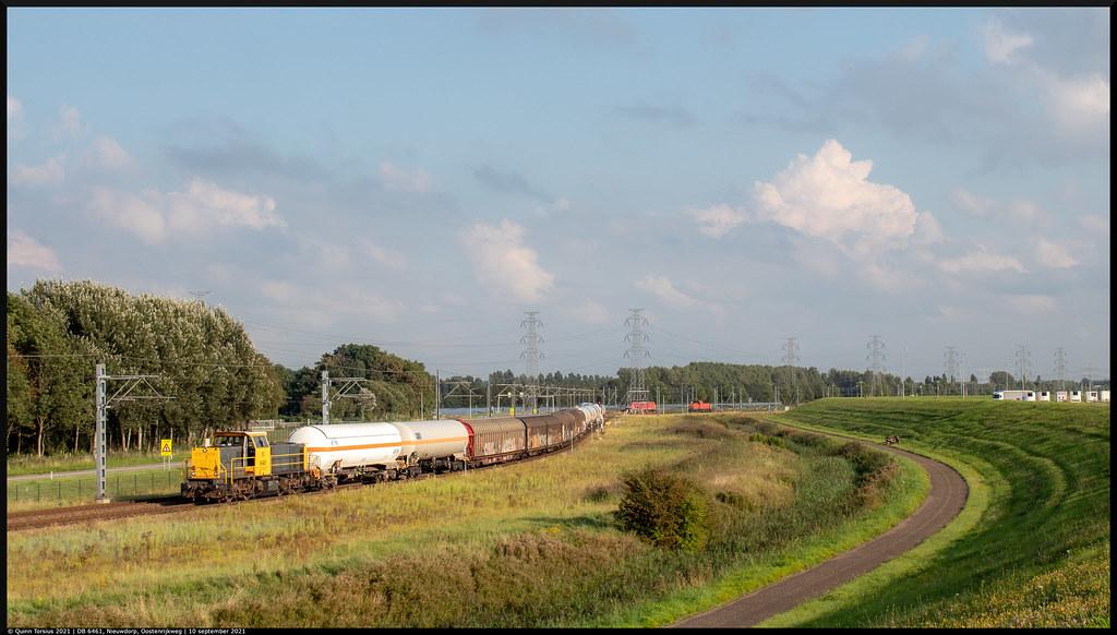 DB 6461 // Rangeerbeweging // Nieuwdorp, Oostenrijkweg // 10 september 2021