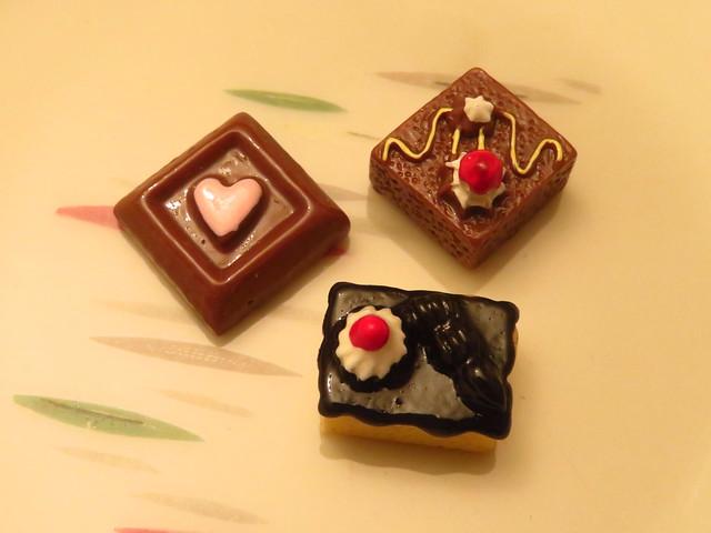 Quadrate & Rechteck (Miniaturkuchen)
