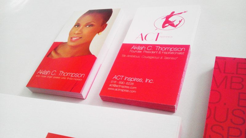 ACT Inspires Business Cards