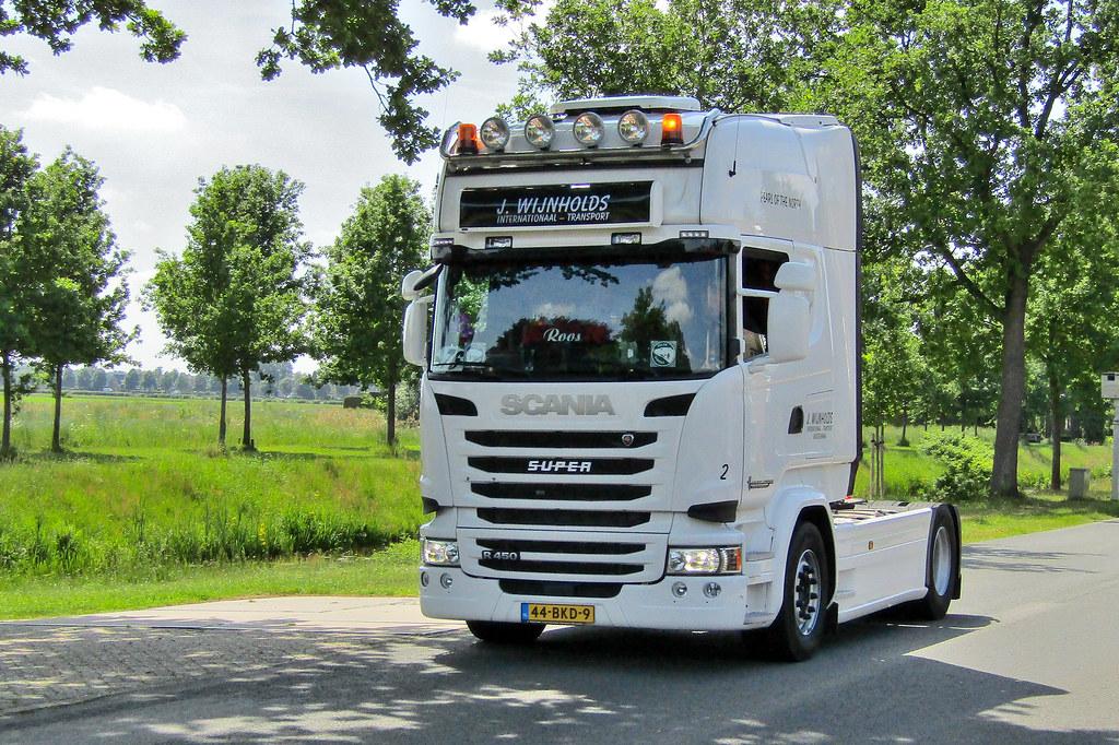 Scania R450 J. Wijnholds Musselkanaal