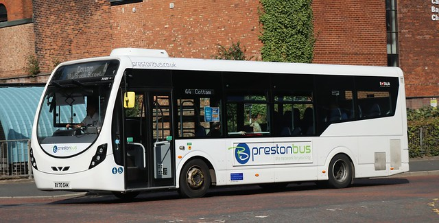 Preston Bus 20189 BX70GHK working local area services to the North West of the City.