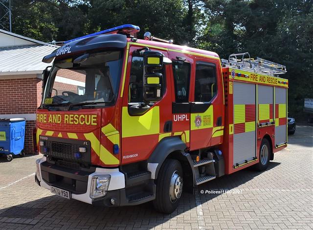 Hampshire & Isle of Wight Fire & Rescue Volvo FL UHPL GN70 YSO