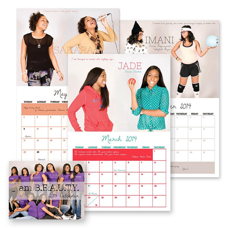 First I am Beauty Calendar