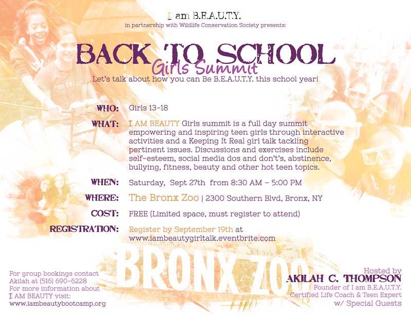 Girls Summit Print Flyer