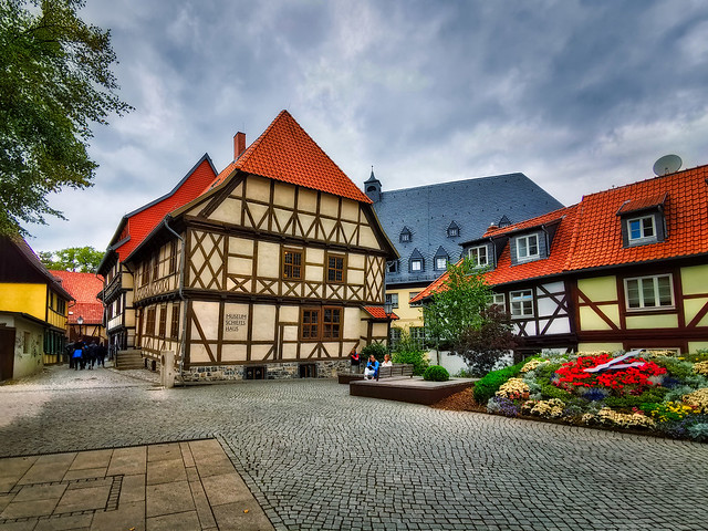 Wernigerode (Harz) - Schiefes Haus