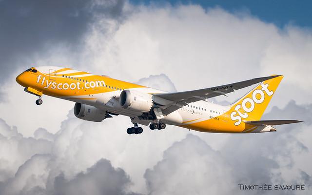 ATH   Scoot Boeing 787-8 Dreamliner   9V-OFK