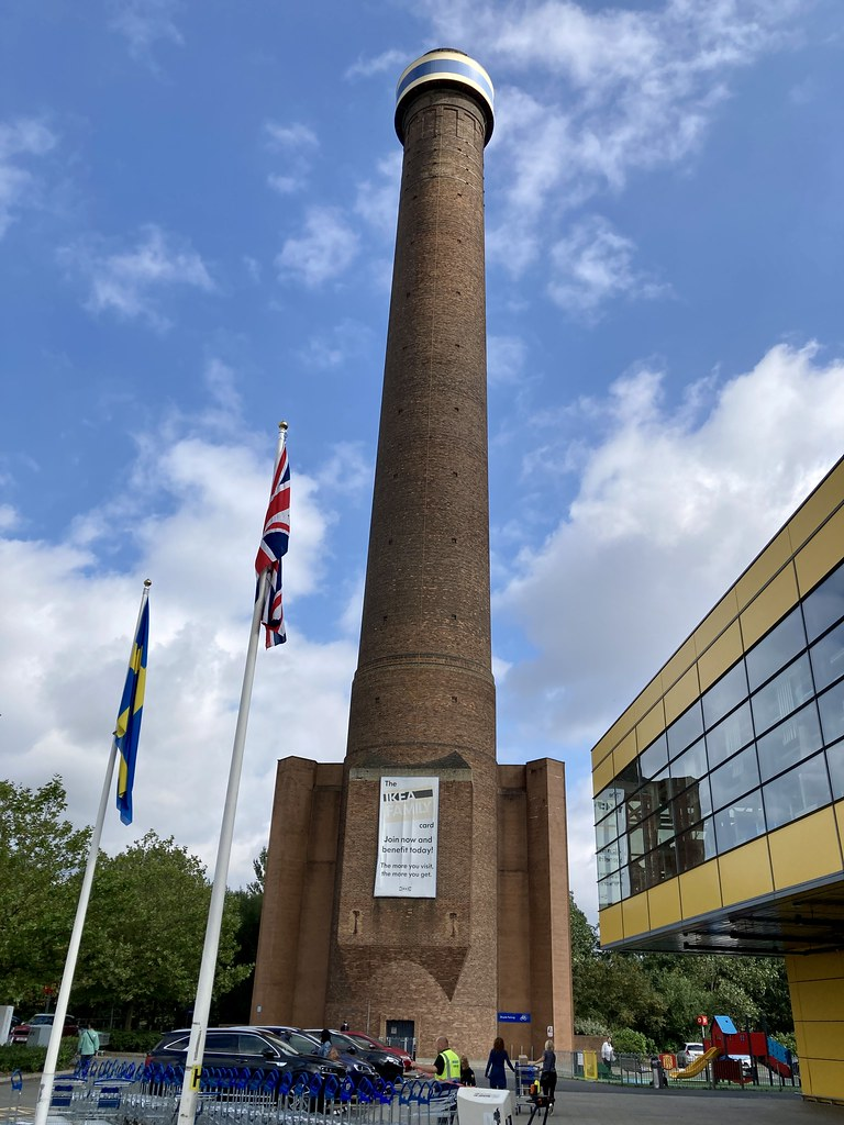 Old chimney from Croydon power station
