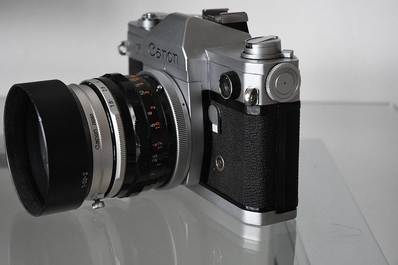 Canon FXLightmeter and Battery Cover