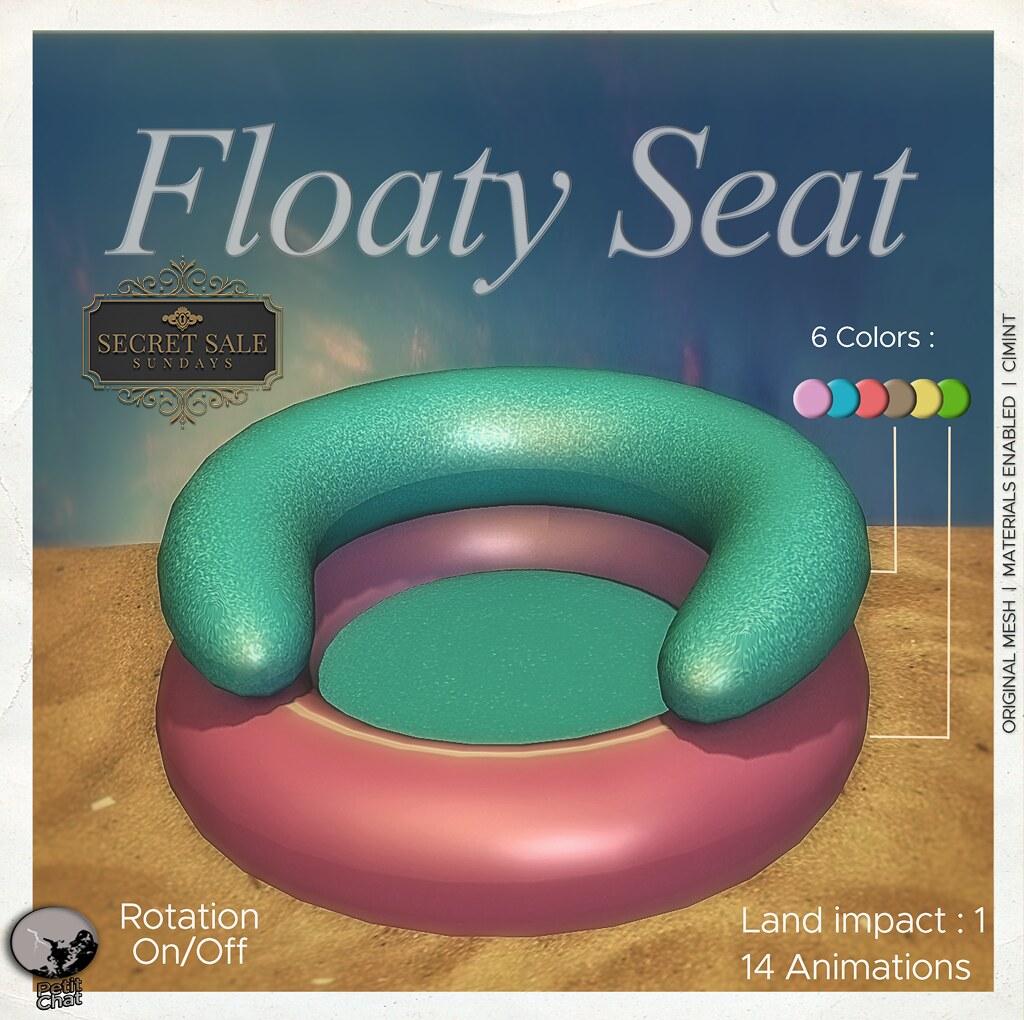 Petit Chat : Floaty Seat @ Secret Sale Sundays