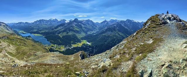 Nearly on Piz Lunghin (2780 m)