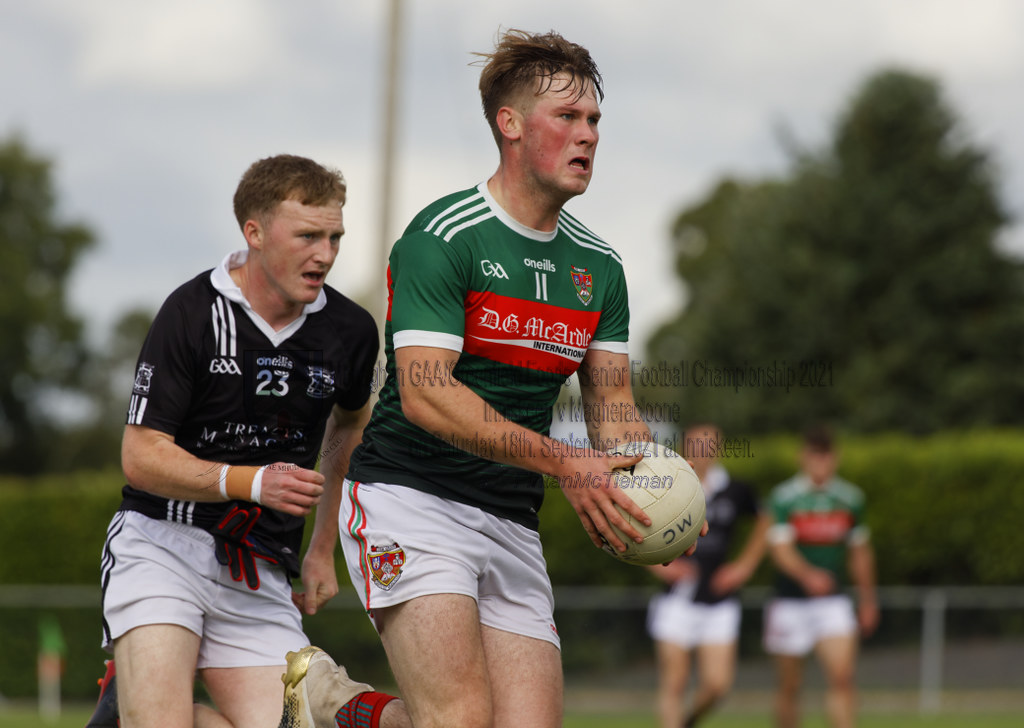 Monaghan GAA / Greenfield Foods SFC 2021 - Inniskeen v Magheracloone on Saturday 18th. September 2021 at Inniskeen.