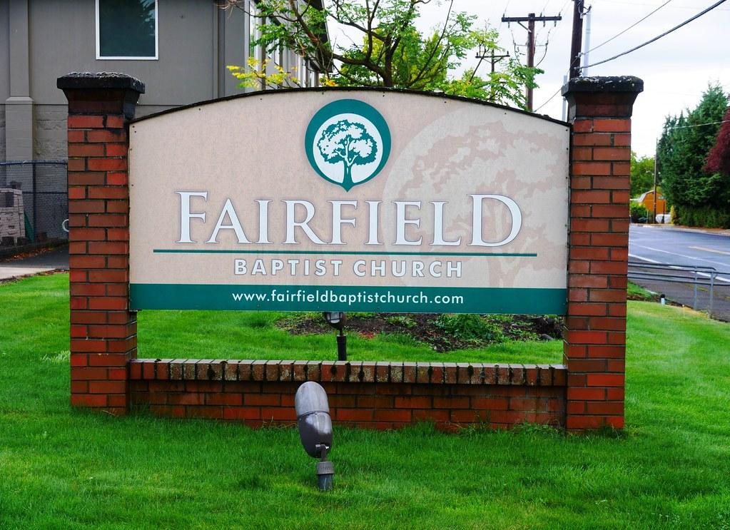 Fairfield Baptist Church in Eugene, Oregon