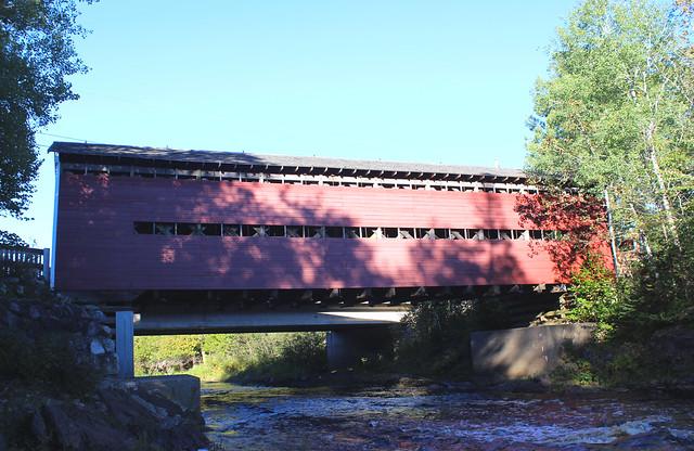 Du Collège Covered Bridge