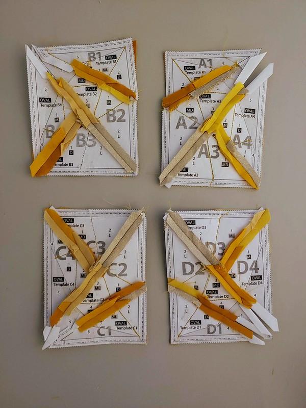 Paper-piecing Gemstone Appliques