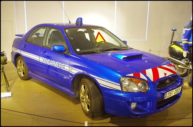 Subaru_Impreza, Gendarmerie Nationale (F)