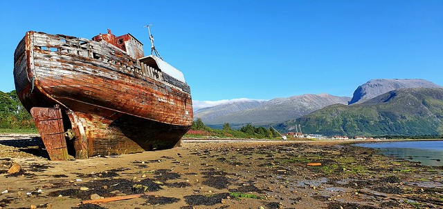 Shipwreck - Scotland - 2021-08-29
