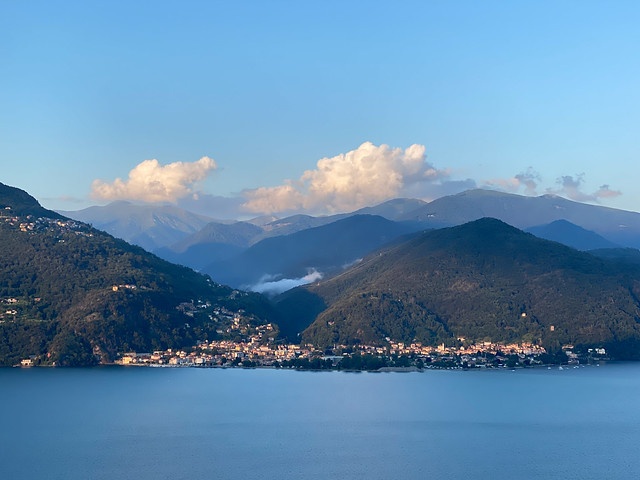 view of Lago Maggiore from Carmine Superiore