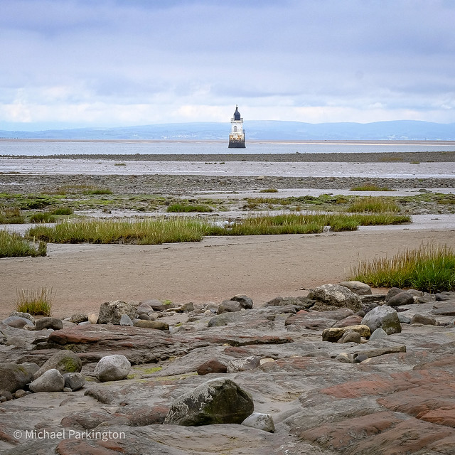 Plover scar lighthouse (river Lune)
