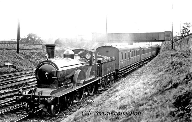 LNER 9595 on an empty stock working near Craigentinny signal box
