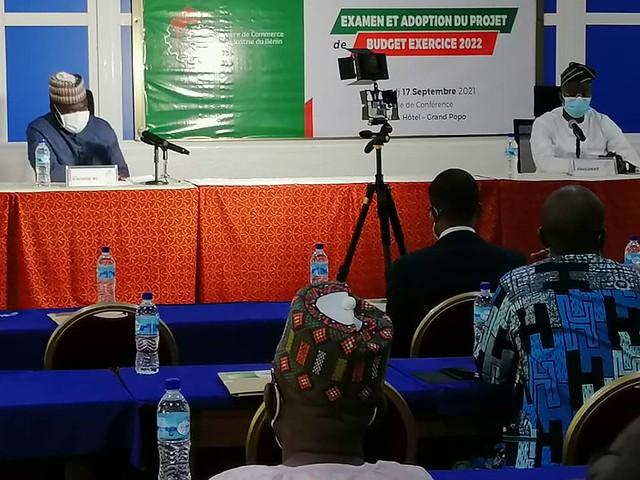 2ème session de l'Assemblée Consulaire de la CCI Bénin :  Examen et adoption du projet de budget exercice 2022