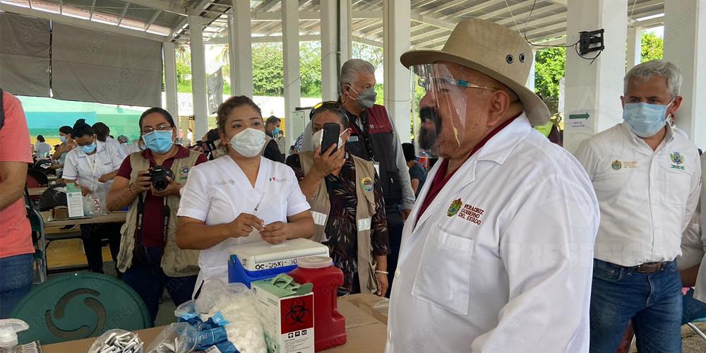 Así lo señaló, Roberto Ramos Alor en su visita a Coatzacoalcos para supervisar el arranque de la vacunación para jóvenes de 18 a 29 años.