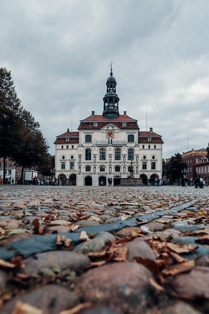 Das Rathaus der Salzstadt Lüneburg