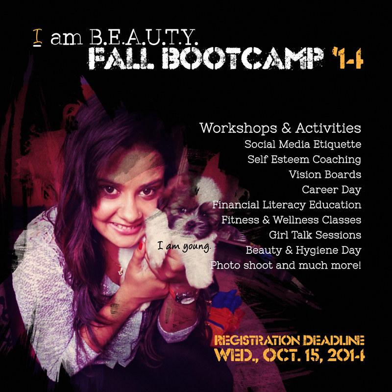 4/5 Social Media Flyer for Fall 2014 Bootcamp