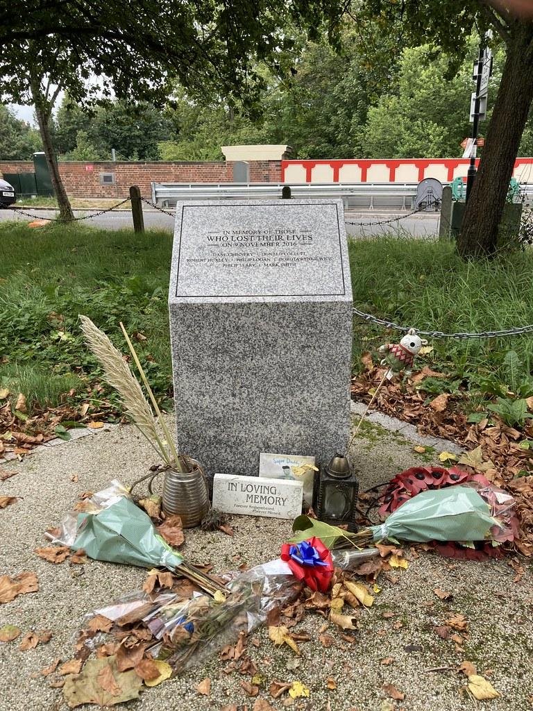Croydon tram tragedy memorial