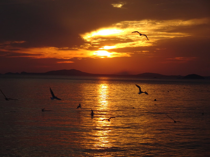 Sunset, Newgale Beach