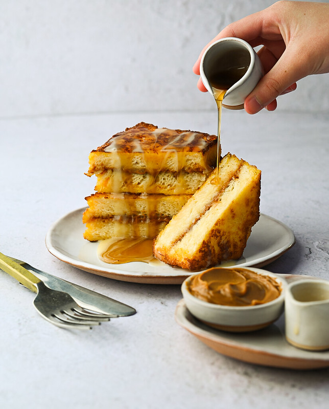 French toast - Hong Kong style