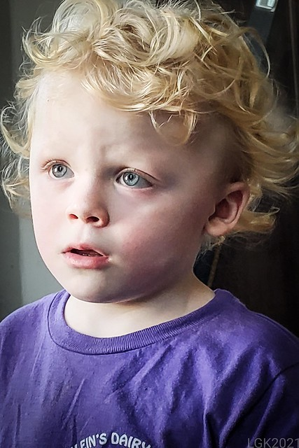Dylan, grandchild, age 3