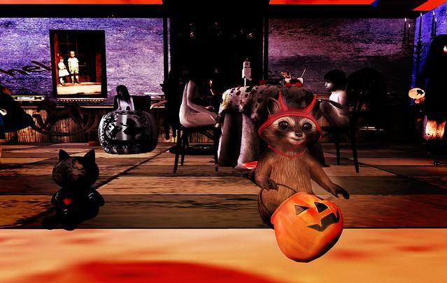 Raccoon In Toyland