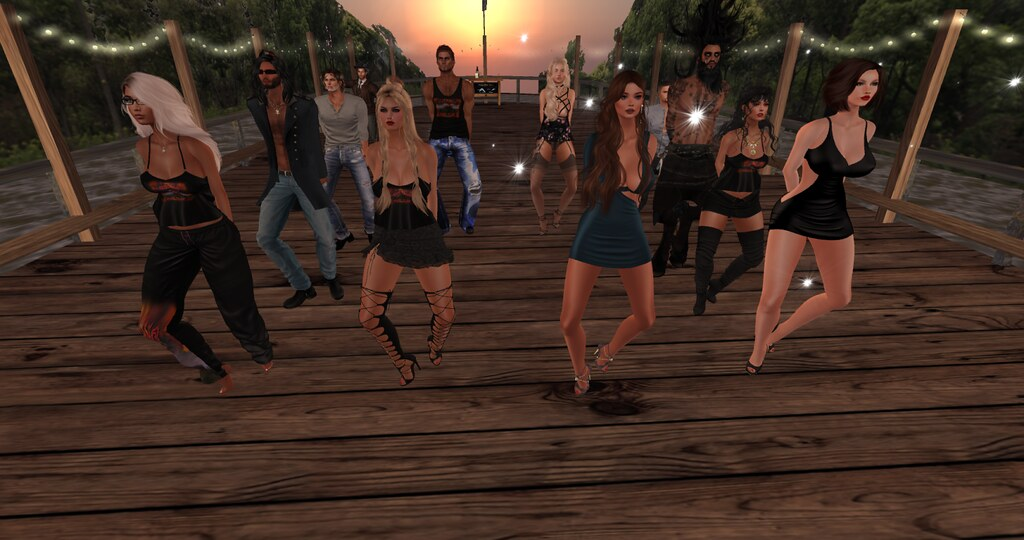 VRC Group Dancing on the riverboat