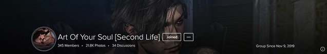 Group cover Art Of Your Soul Second Life