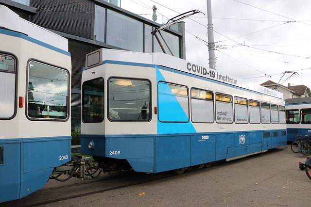 2021-09-16, Zürich, Bahnhof Tiefenbrunnen