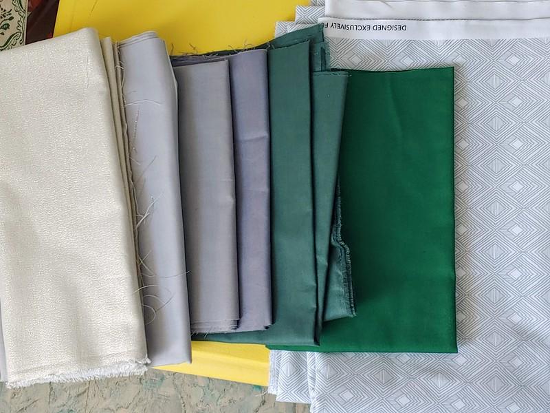 Playing around with fabric choice