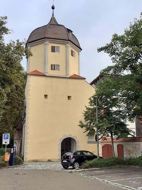 Memmingen 2021_1_Westtor an der Stadtmauer_Brigitte Stolle