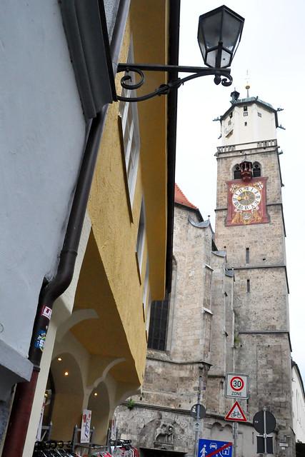 Memmingen 2021_2_Kirchturm St. Martin_Brigitte Stolle